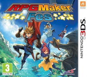 Copertina del gioco RPG Maker Fes per Nintendo 3DS