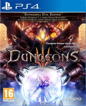 Copertina del gioco Dungeons 3 per Playstation 4