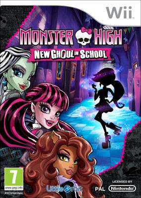 Copertina del gioco Monster High: Una nuova Mostramica a Scuola per Nintendo Wii