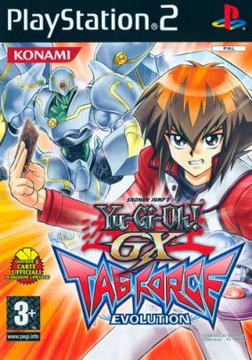 Copertina del gioco Yu-Gi-Oh! GX Tag Force Evolution per Playstation 2