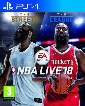 Copertina del gioco NBA Live 18 per Playstation 4