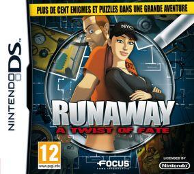 Immagine della copertina del gioco Runaway - A Twist of Fate per Nintendo DS