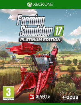 Copertina del gioco Farming Simulator 17: Platinum Edition per Xbox One