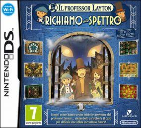 Copertina del gioco Il Professor Layton Richiamo dello Spettro per Nintendo DS