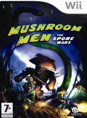Immagine della copertina del gioco Mushroom Men: The Spore Wars per Nintendo Wii