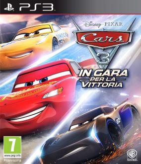 Immagine della copertina del gioco Cars 3: In gara per la vittoria per Playstation 3