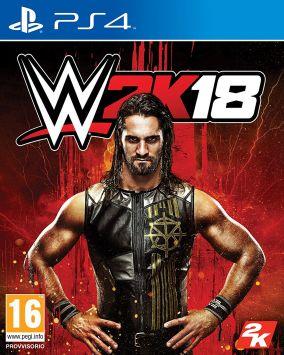 Immagine della copertina del gioco WWE 2K18 per Playstation 4