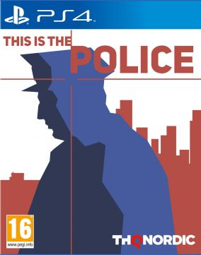 Copertina del gioco This is the Police per Playstation 4