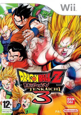Immagine della copertina del gioco Dragon Ball Z - Budokai Tenkaichi 3 per Nintendo Wii