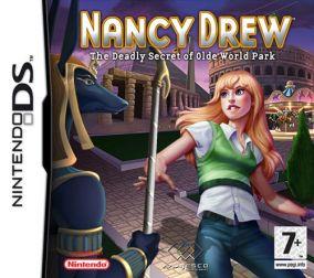Copertina del gioco Nancy Drew per Nintendo DS