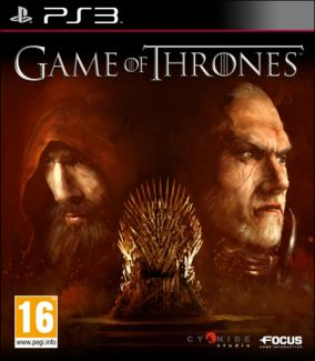 Copertina del gioco Game of Thrones per Playstation 3