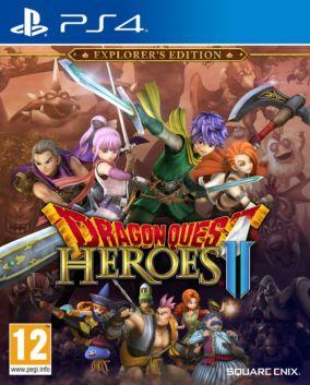 Immagine della copertina del gioco Dragon Quest Heroes II per Playstation 4