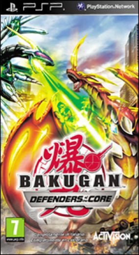 Copertina del gioco Bakugan Battle Brawlers: I Difensori della Terra per Playstation PSP