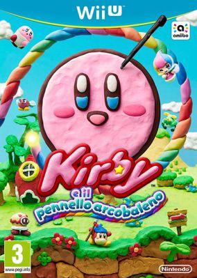 Copertina del gioco Kirby e il pennello arcobaleno per Nintendo Wii U