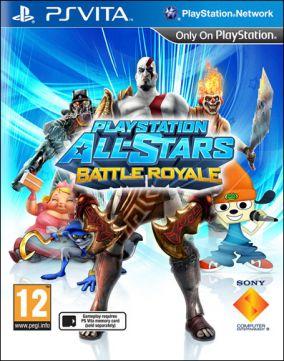Copertina del gioco Playstation All-Stars Battle Royale per PSVITA