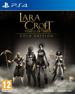 Copertina del gioco Lara Croft and the Temple of Osiris per Playstation 4