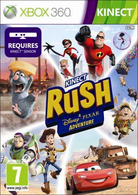 Copertina del gioco Kinect Rush: a Disney Pixar Adventure per Xbox 360