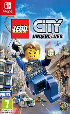 Immagine della copertina del gioco LEGO City Undercover per Nintendo Switch