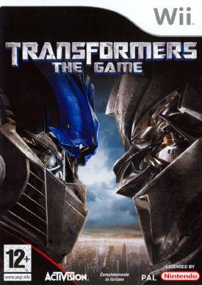Immagine della copertina del gioco Transformers: The Game per Nintendo Wii