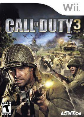 Immagine della copertina del gioco Call of Duty 3 per Nintendo Wii