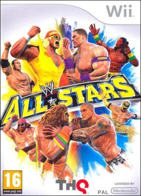 Immagine della copertina del gioco WWE All Stars per Nintendo Wii