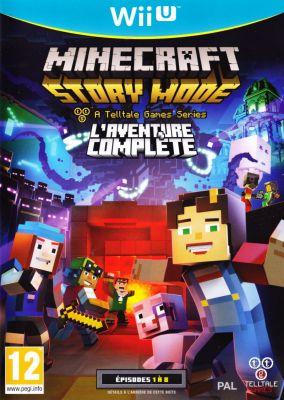 Copertina del gioco Minecraft: Story Mode per Nintendo Wii U