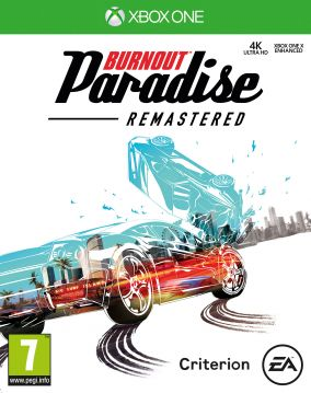 Copertina del gioco Burnout Paradise Remastered per Xbox One