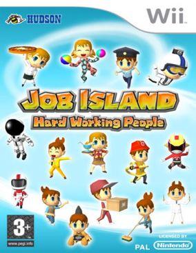 Copertina del gioco Job Island: Hard Working People per Nintendo Wii