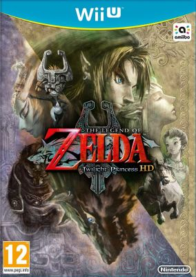 Copertina del gioco The Legend of Zelda: Twilight Princess HD per Nintendo Wii U