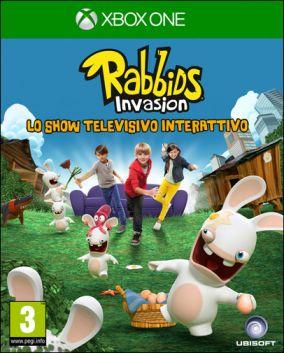 Copertina del gioco Rabbids Invasion: Lo show televisivo interattivo per Xbox One