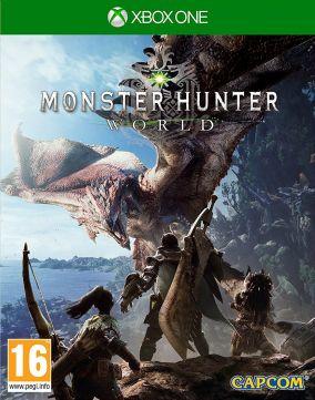 Copertina del gioco Monster Hunter: World per Xbox One