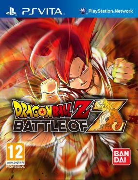 Copertina del gioco Dragon Ball Z: Battle of Z per PSVITA