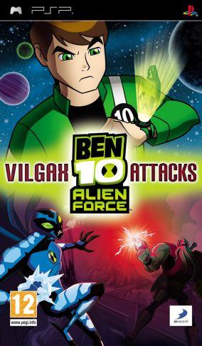 Immagine della copertina del gioco Ben 10: Alien Force: Vilgax Attacks per Playstation PSP