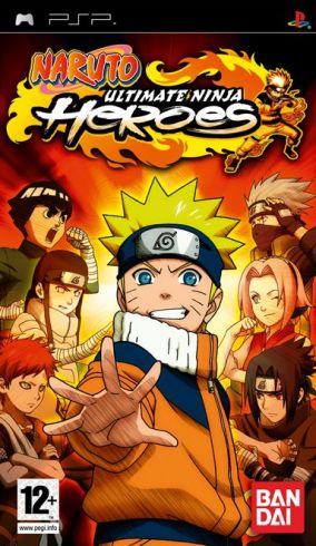 Immagine della copertina del gioco Naruto: Ultimate Ninja Heroes per Playstation PSP
