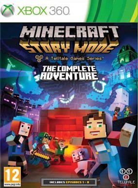Copertina del gioco Minecraft: Story Mode per Xbox 360