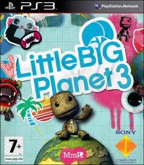 Copertina del gioco LittleBigPlanet 3 per Playstation 3