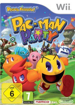 Copertina del gioco Pac-Man Party per Nintendo Wii
