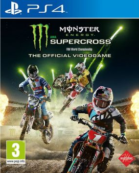Copertina del gioco Monster Energy Supercross - The Official Videogame per Playstation 4