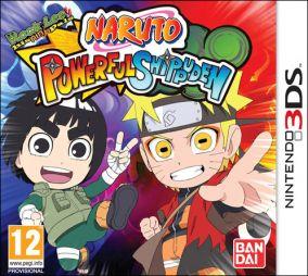 Copertina del gioco Naruto Powerful Shippuden per Nintendo 3DS
