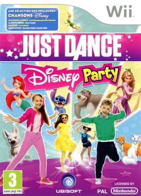 Copertina del gioco Just Dance: Disney Party per Nintendo Wii