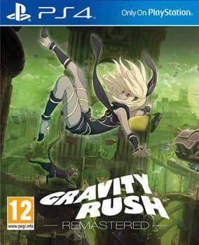 Copertina del gioco Gravity Rush Remastered per Playstation 4