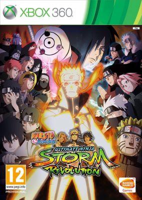 Copertina del gioco Naruto Shippuden: Ultimate Ninja Storm Revolution per Xbox 360