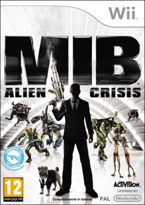 Copertina del gioco Men in Black: Alien Crisis per Nintendo Wii