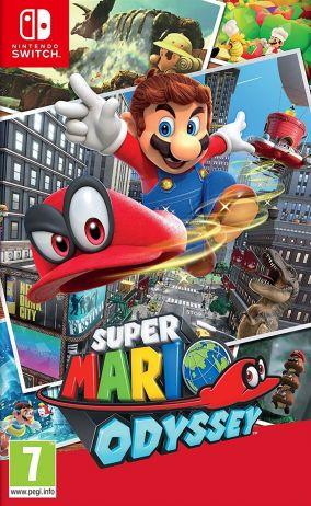 Copertina del gioco Super Mario Odyssey per Nintendo Switch