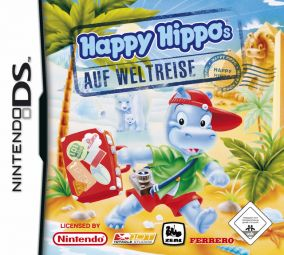 Copertina del gioco Happy Hippos on Tour per Nintendo DS