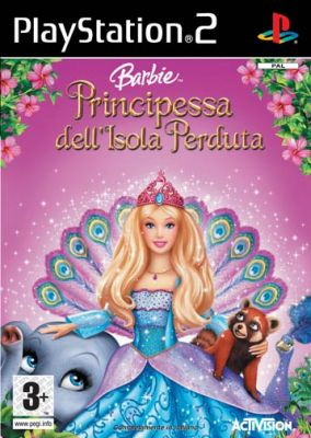 Copertina del gioco Barbie Island Princess per Playstation 2