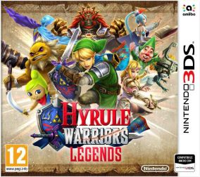 Copertina del gioco Hyrule Warriors Legends per Nintendo 3DS