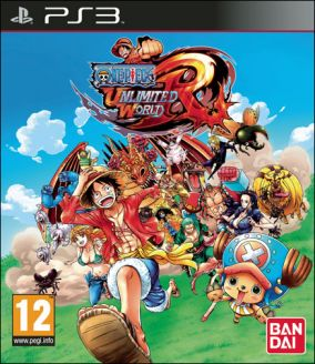 Copertina del gioco One Piece Unlimited World Red per Playstation 3