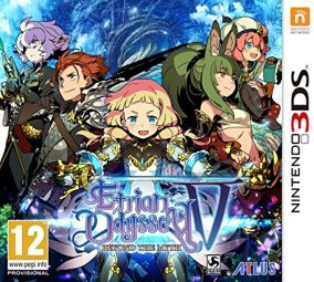 Copertina del gioco Etrian Odyssey V: Beyond the Myth per Nintendo 3DS