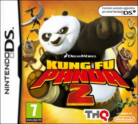 Copertina del gioco Kung Fu Panda 2 per Nintendo DS